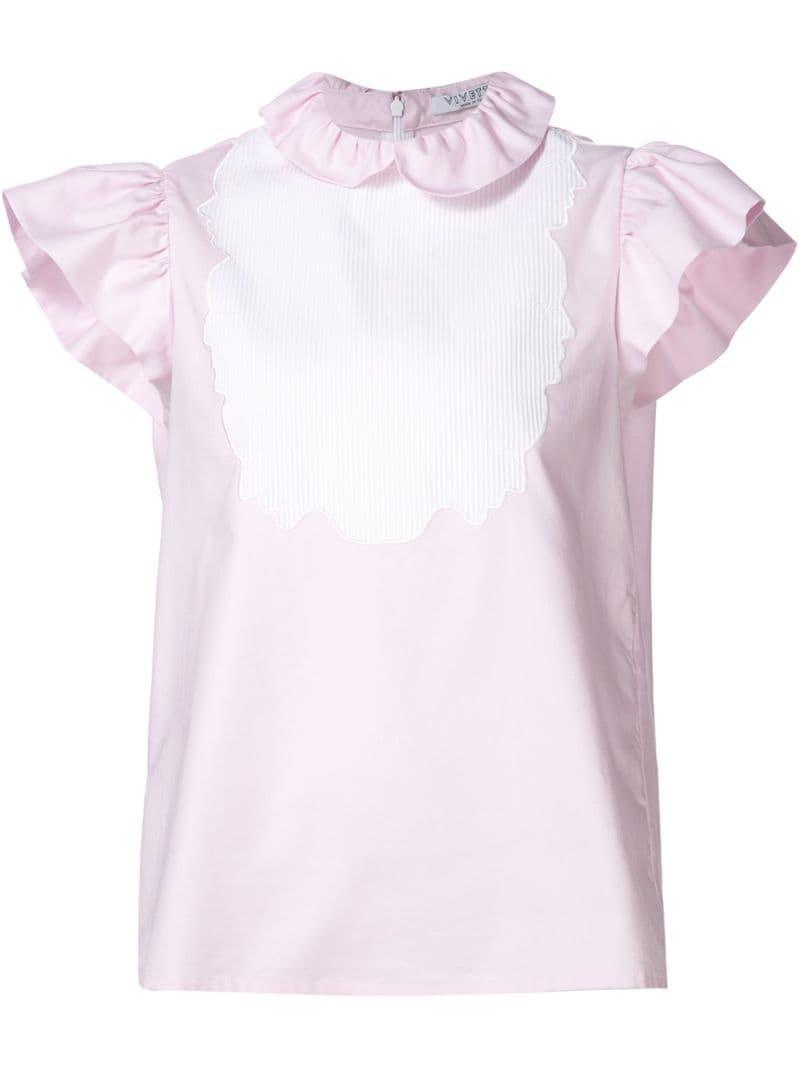Блузка с рюшками в санкт петербурге