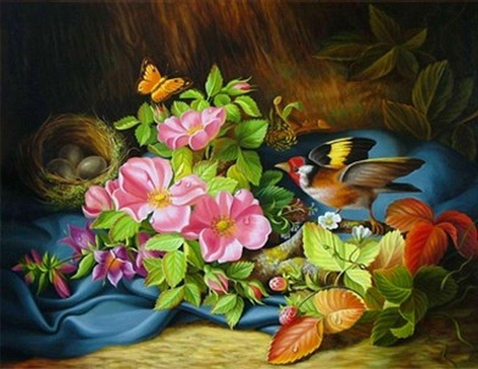 картинки для пазлов с цветами какие существуют