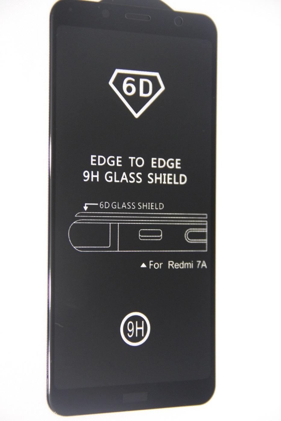 Защитное закаленное стекло Xiaomi Redmi 7 А EDGE TO EDGE 9H Glass Shield 6D Нет бренда  100072 цена 449 руб. Купить на OZON