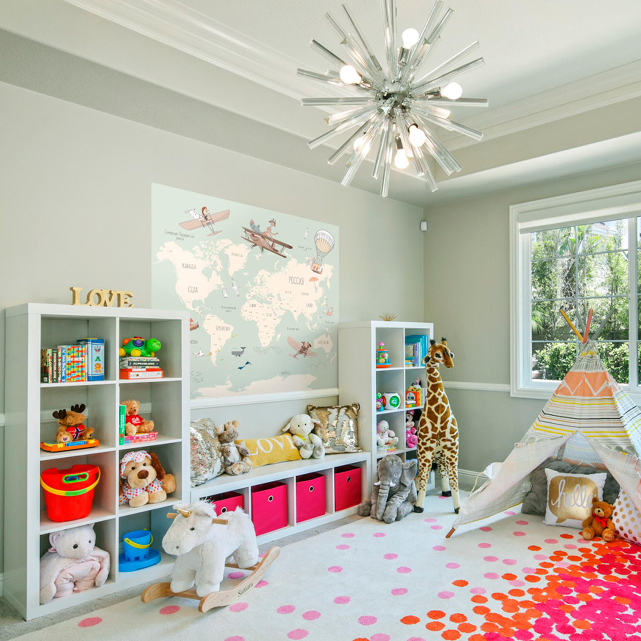 Картинки с детскими спальнями