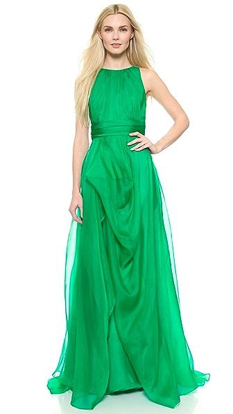 Платье вечернее из органзы