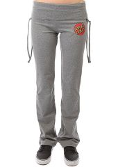 Штаны спортивные женские Santa Cruz Classic Dot Yoga Pant Charcoal Heather Santa Cruz