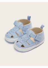 Baby Boys Cut Out Round Toe Sandals SheIn