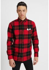 Рубашка CHEAP MONDAY Fit Shirt Red Tartan Scarlet Red 192387052762