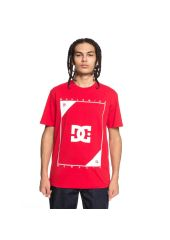 Футболка мужская DC SHOES Middle Theory S M Tango Red DC Shoes 3613373439734