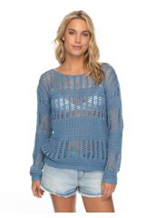 Джемпер женский ROXY Blushseaview J Blue Shadow Roxy 3613373476760