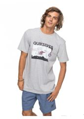 Футболка мужская QUIKSILVER Ssclablackhoriz M Athletic Heather Quiksilver 3613373396990