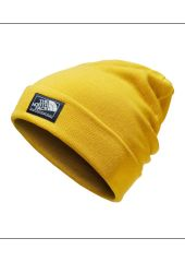 Шапка THE NORTH FACE Dock Worker Beanie Leopard Yellow/Urban Navy The North Face 191931264996