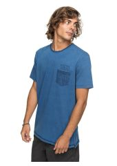 Футболка мужская QUIKSILVER Bavericks M Blue Used Quiksilver 3613373388865