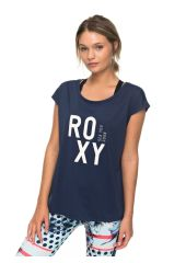Футболка женская ROXY Pari Walk Tee J Dress Blues Roxy 3613373347930