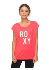 Футболка женская ROXY Pari Walk Tee J Smocking Red Roxy 3613373353894