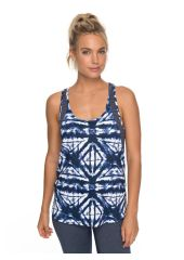 Майка женская ROXY Easy Game Tank J Dress Blues Geometric Feeling Roxy 3613373483157
