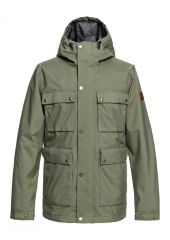 Куртка QUIKSILVER City Spindye Jk M Grape Leaf Quiksilver 3613373698124