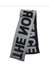 Шарф THE NORTH FACE Logo Scarf TNF MEDIUM GREY HEATHER/TNF BLACK The North Face 192363602844