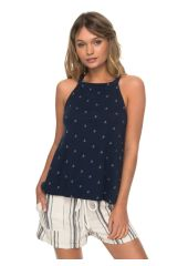 Блузка женская ROXY Malibbaysid J Dress Blue Printed Anchor Roxy 3613373391964