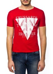 Футболка Trussardi Collection 5524_CARAPELLE_ROSSO_RED