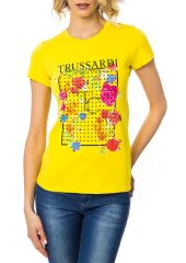 Футболка Trussardi 6435_LUCERA_GIALLO_YELLOW