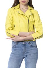 Jacket Silvian Heach RNP18075GB_YELLOW