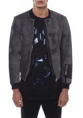 Jacket NICOLO TONETTO SULFUR_BLACK_WHITE