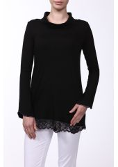 Кофта Cotton Club MAFALDA 3SA 05 NERO