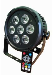 Light LED PAR 7 RGBWAUV PRO SVET