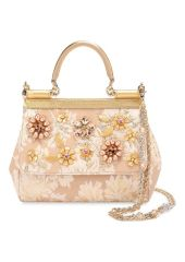 Сумка Sicily small с отделкой кристаллами Limited edition Dolce & Gabbana 0116/BB6003/B9H29