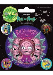 Набор стикеров Rick And Morty: Psychedelic Visions Pyramid International
