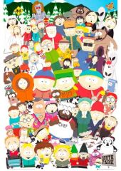 Плакат South Park: Cast (№178) GB eye