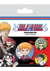 Набор значков Bleach Chibi Characters Pyramid International