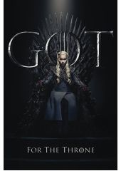 Плакат Game Of Thrones: Daenerys For The Throne (№259) Pyramid International