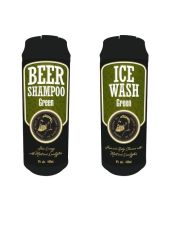 "Набор ""Beer Shampoo Green & Ice Wash Green"" The Chemical Barbers"