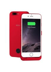Чехол-аккумулятор INTERSTEP Metal battery case для iPhone 6 Plus/7 Plus red