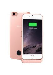 Чехол-аккумулятор INTERSTEP Metal battery case для iPhone 7/8 rose gold