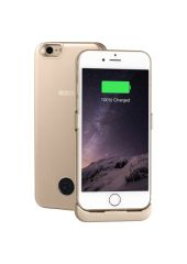 Чехол-аккумулятор INTERSTEP Metal battery case для iPhone 7/8 gold