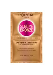 Салфетка для автозагара L'Oreal Paris Sublime Bronze 11 мл
