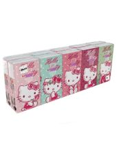 Платочки World Cart Hello Kitty 21 х 21 90 шт.