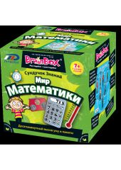 Сундучок знаний BRAINBOX 90718 Мир математики Brainbox