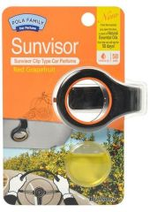 Освежитель воздуха POLA FAMILY - SUNVISOR Grapefruit SUNVISOR Grapefruit