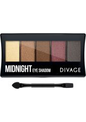 Divage Палетка теней для век Palettes Eye Shadow - Midnight DIVAGE UshasMid