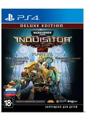 Игра Warhammer 40,000: Inquisitor - Martyr. Deluxe Edition для PS4 Sony NeocoreGames