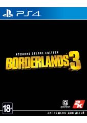 Игра Borderlands 3. Deluxe Edition для PS4 Sony Gearbox Software
