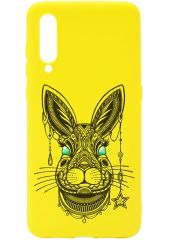 Чехол для сотового телефона GOSSO CASES для Xiaomi Mi 9 Soft Touch Art Grand Rabbit Yellow, желтый для Xiaomi Mi 9 Soft Touch Art Grand Rabbit Yellow