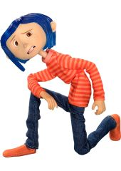 Фигурка Neca Articulated Figure - Coraline in Striped Shirt and Jeans - Coraline 1CSC20004079