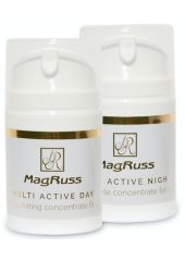 Magruss Набор Дневной крем для лица MULTI ACTIVE DAY, 50 ml + Ночной крем для лица MULTI ACTIVE NIGHT, 50 ml Набор кремов для лица день/ночь