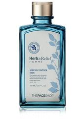 The Face Shop Herb and Relief Homme Sebum Control Skin 4567