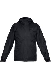 Куртка Under Armour Prime 3 in 1 Wind 10K Full Zip Hooded, 001 черная, SM