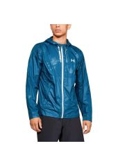 Куртка Under Armour Prevail Wind Full Zip Hooded, 437 синяя, MD