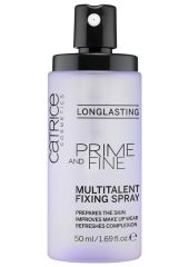 Фиксатор макияжа CATRICE Prime And Fine Multitalent Fixing Spray 50 мл