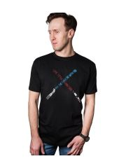 Футболка Good Loot Star Wars Light Sabers, черный, M INT