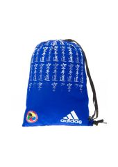 Спортивная сумка Adidas Satin Carry Bag Karate WKF синяя